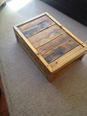 Vintage Pine Chest/crate 4