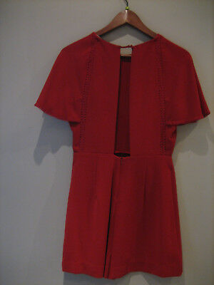 the best affordable price speical offer ROBE SHORT ZARA neuve rouge dos ouvert T:M 36/38