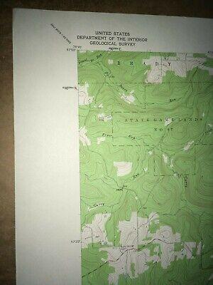 Mahaffey Pa. Clearfield Co USGS Topographical Geological Survey Quadrangle Map 2