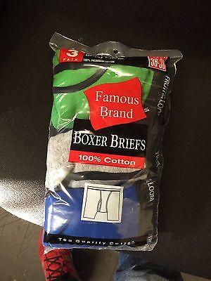 Fruit Of The Loom  9 Pk Boxer Briefs-Men In Famous Brand All-Asst 4