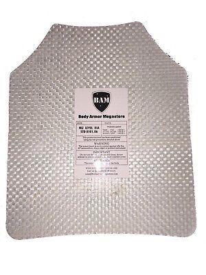 Body Armor   Bullet Proof Plate   ArmorCore   Level IIIA+ 3A+ 10x12- Single 8