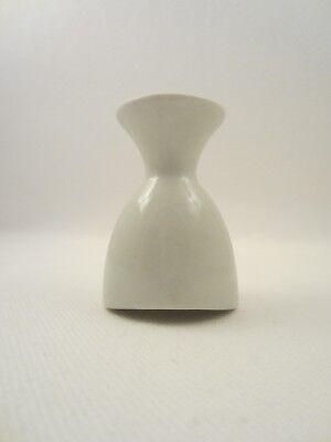 Augen Badewanne Keramik Porzellan Augenbad Eye Bath Arzt Apotheke Antik Alt Weiß