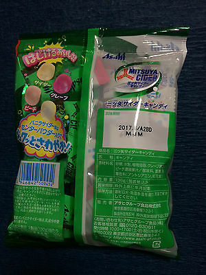1 x bag Mitsuya Cider - Fruit Soda Flavoured Candy / Japanese Candies from Japan 2
