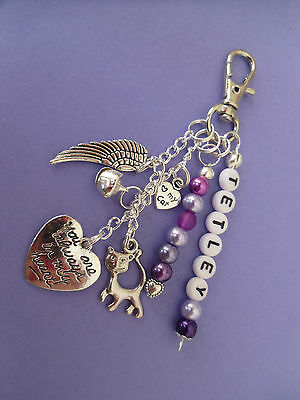 Loss of cat, key/bag charm, personalised free 6