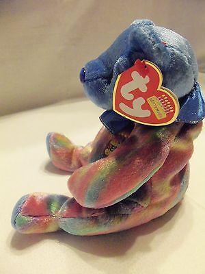 TY Beanie Babies Rainbow Birthday Bear ** SEPTEMBER **  New w/ Tag