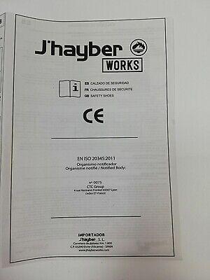 Scarpe Antinfortunistiche,Lavoro  Livello Di Sicurezza: S3  J'hayber Works 7