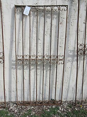 Antique Victorian Iron Gate Window Garden Fence Architectural Salvage Door #341 5