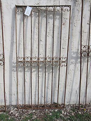 Antique Victorian Iron Gate Window Garden Fence Architectural Salvage Door #341 5