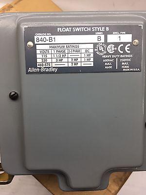 840-B1 New In Box Allen Bradley 840B1 AB 840 B1 Float Switch NIB