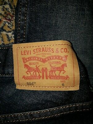 Boys Levi Jeans Age 6 3