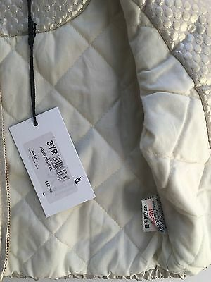 No Added Sugar Girls Amazing Gold Bomber Jacket Size 2-3 Years BNWT 7