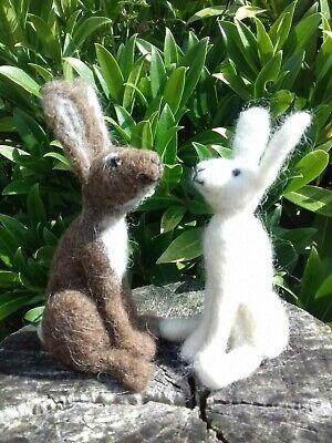 Hare & Badger Needle Felt Starter Kit 100% British wool UNBOXED 4