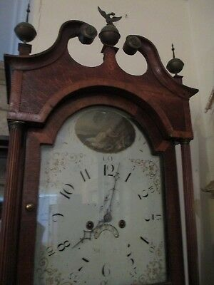 John Thomas Of Worcester 8 Day Grandfather Clock 3