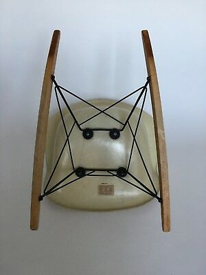 All original Eames Herman Miller Fiberglass Rocking Chair from 1957 12