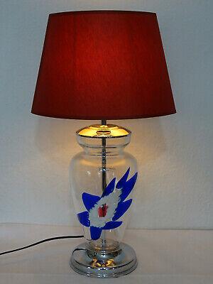 Zwei Tischlampen Antikstil Leuchten schwarze Diener Kandelaber Tischleuchte neu