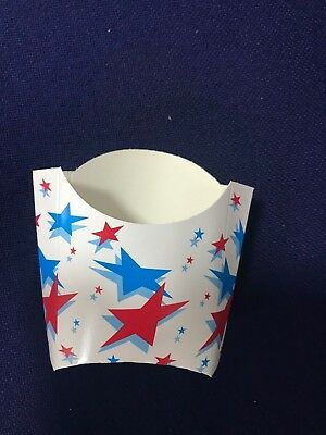 Printed Disposable Takeaway Cardboard Chip Scoop Boxes Fast Food Packaging 2
