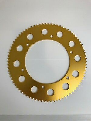 High Quality Alloy Kart Sprocket ! -All Sizes 63T - 95T / Tkm / Rotax - Rear Cog