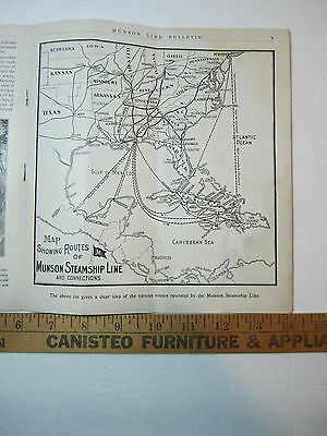 1904 D Munson Line Cuba Opportunities For Americans Manufacturing Protected Ad Collectibles