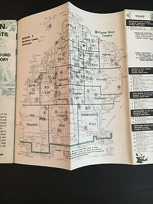Michigan State Forests Campground Directory - Northern -Upper Peninsula 1970s 7