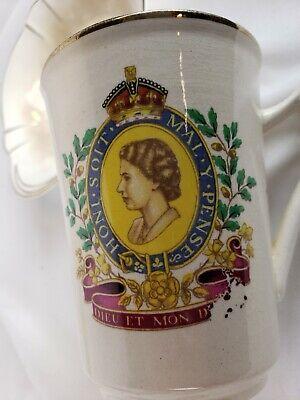 Queen Elizabeth ll Coronation Mug and Bowl 1953 6