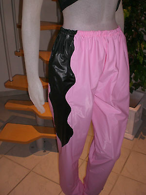 Ultra Soft Pvc Jogginghose Sauna Schwitz Hose Jogging Trousers  S-M