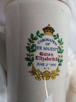 Queen Elizabeth ll Coronation Mug and Bowl 1953 5