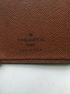 Authentic Louis Vuitton Monogram Mini Agenda & Address With Mechanical Pencil 4
