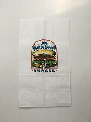 Big Kahuna Burger BAG Pulp Fiction Once upon time hollywood TARANTINO Movie prop 3