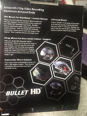 HD Fire Fighter Video BULLETHD Helmet Cam Camera Waterproof BlackJack 16GB SD 5