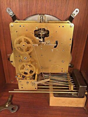 Vtg Mason & Sullivan Bracket Clock Westminster Chimes Runs Strikes Chimes 9