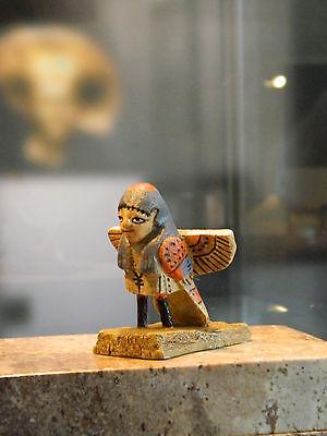 Altägyptischer Ba Vogel aus der Ptolemäer-Zeit 305-30 v. Chr.