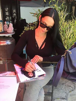 Amy Anderssen Topless In A Thong Adult Model Signed 8x10 Photo COA Proof 65 2