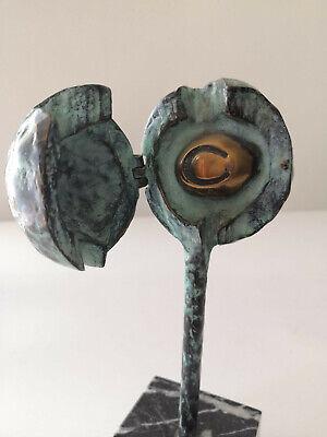 Escultura premio 1 Festival de Cine y TV de Santander en bronce por Jose Luis Fe 4