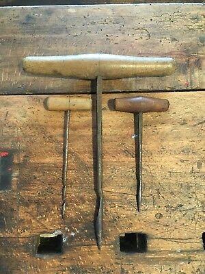 Antike Handbohrer Holzbohrer 2