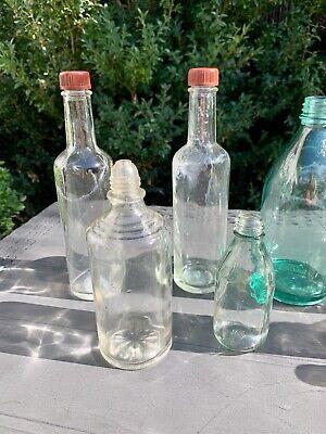 9x alte Apothekerflaschen vor 1945 Wehrmacht Lazarett Glashütte Holzminden 2
