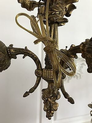 Antique Bronze 3 Light Chandelier
