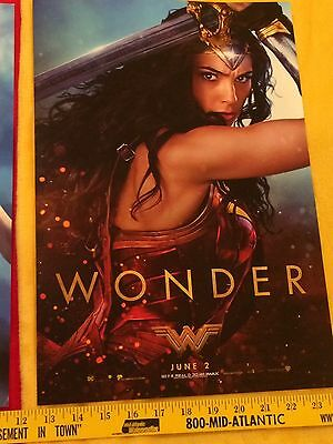 Wonder Woman movie posters Gal Gadot lot,Rebirth #1,Batman,Superman, Rare,Bonus 6