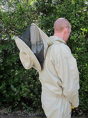 PREMIUM QUALITY Bee Suit Round Hat - Olive. All Sizes. Protective Equipment 2
