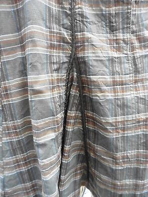 """Next Girls Skirt Age 14 22"""" Long 30"""" Waist Beautiful Panelled Skirt lots detail 4"""
