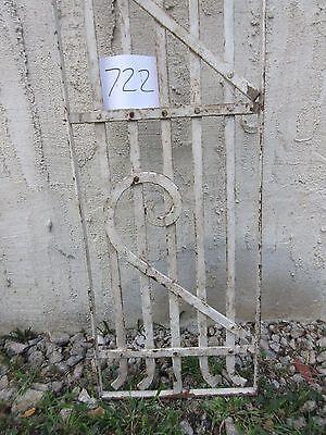 Antique Victorian Iron Gate Window Garden Fence Architectural Salvage #722 4