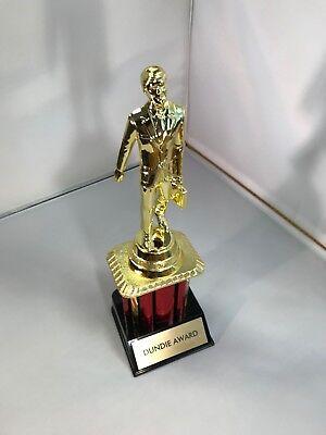 "Dundie Trophy Award The Office TV Dunder Mifflin Dundee 10 1/2"" Dunde NEW 2"