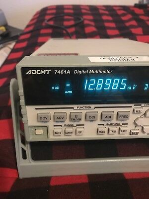 ADCMT AD74461A Commercial Digital Multimeter Nice Unit! 3