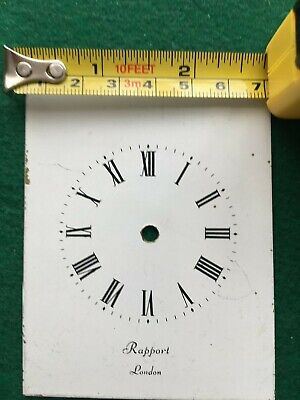 White Dial RAPPORT LONDON Clock Dial 4