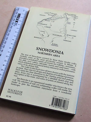 Snowdonia Walks for Motorists: Northern Area by Jim Knowles (Paperback, 1990)