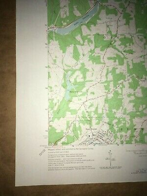 East Butler PA Bulter County USGS Topographical Geological Survey Quadrangle Map 4