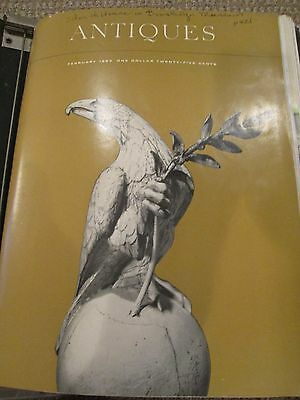 Lot of 10 Issues - The Magazine Antiques 1964