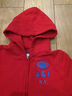 Girls Red Size XL Abercrombie & Fitch Hoodie 2