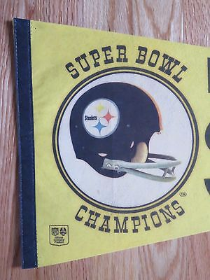 ... 4Only 1 available Vintage 70s PITTSBURGH STEELERS Super Bowl Champions  30