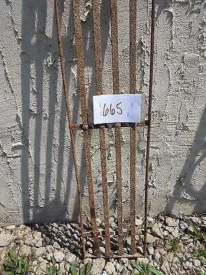 Antique Victorian Iron Gate Window Garden Fence Architectural Salvage Door #665 2