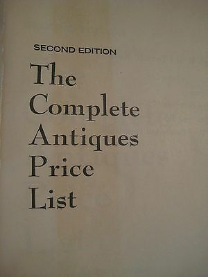 Original Vintage 1969 2nd Edition KOVEL COMPLETE ANTIQUES PRICE LIST 502 pgs 3